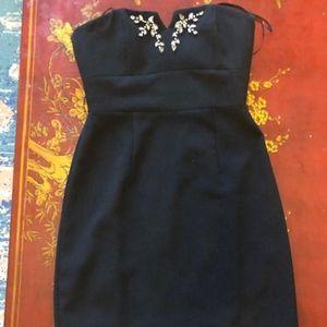 BNWT Max & Cleo Black Cocktail Mini Dress